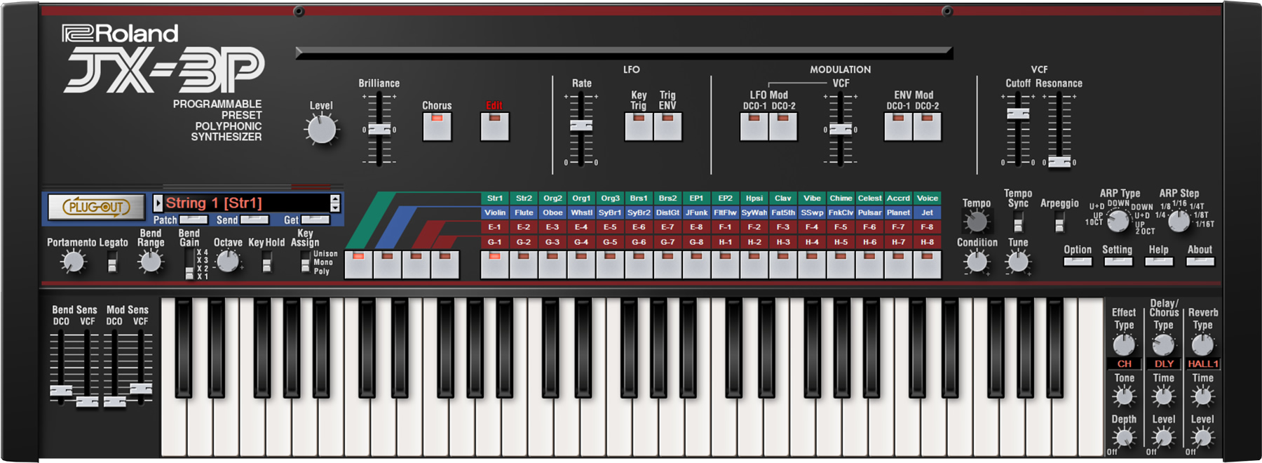 KVR: Roland Virtual Sonics releases JX-3P Plug-in - Roland