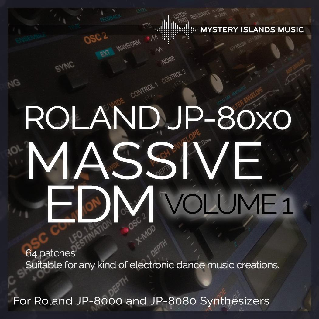 Roland JP-80x0 Massive EDM volume 1
