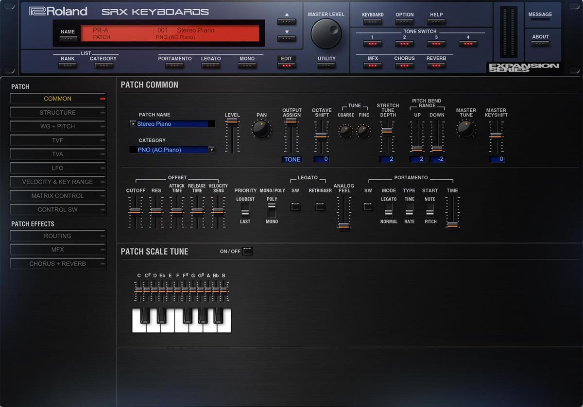 KVR: Roland Cloud updated to v5 6 - introduces SRX Keyboards