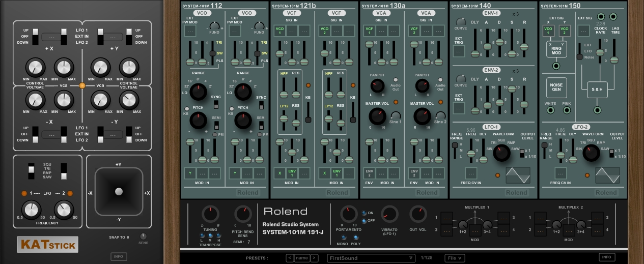 Rolend System 101M_stick