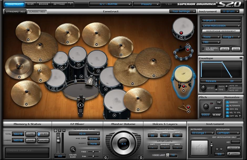 KVR: Superior Drummer 2 by Toontrack Music - Drum Sampler