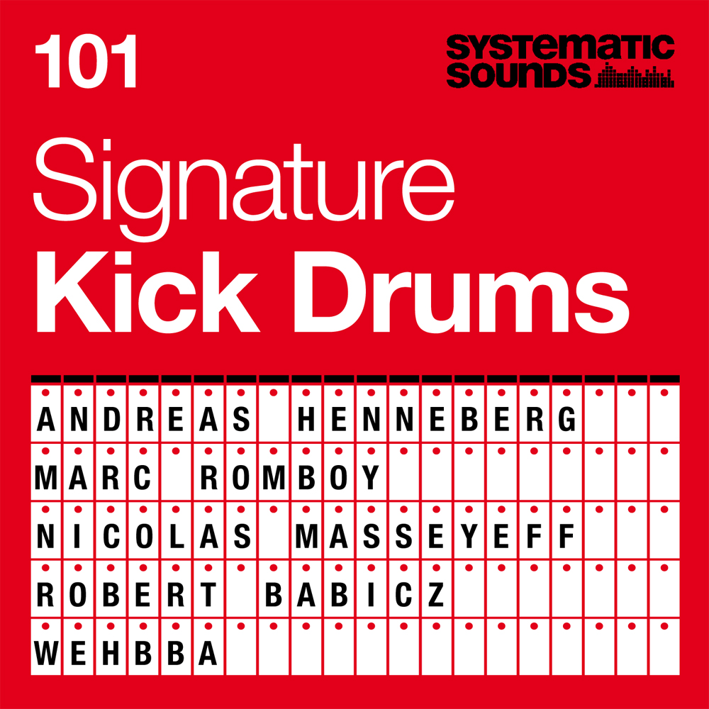 101 Signature Kick Drums