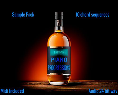 Piano Progressions Sample Pack