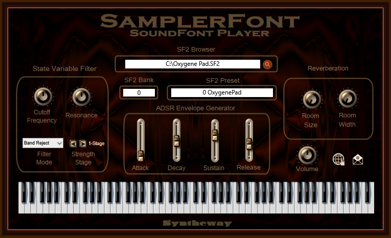 KVR: Syntheway releases SamplerFont SoundFont Player v3 0