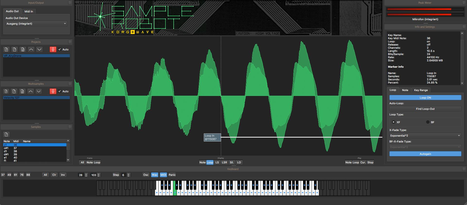 SampleRobot Korg+Wave