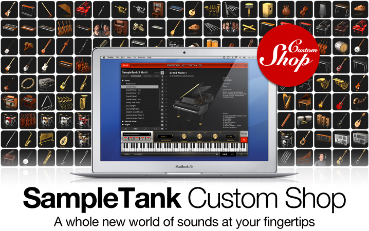 SampleTank Custom Shop