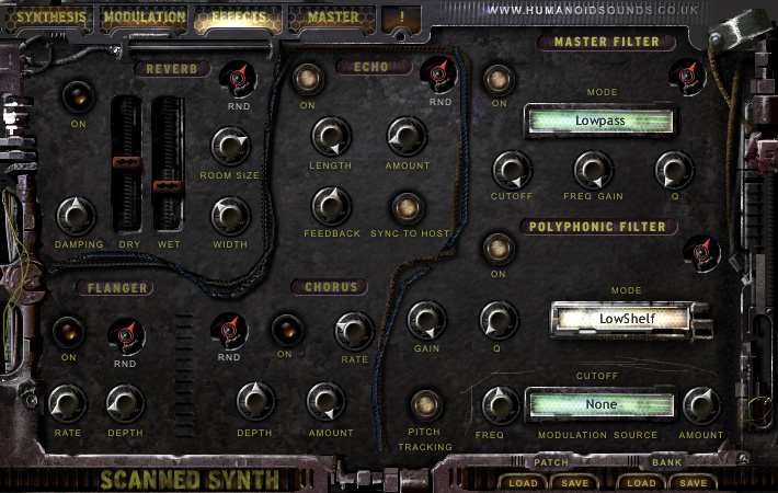 KVR: Humanoid Sound Systems Scanned Synth Pro - Virtual Instrument ...