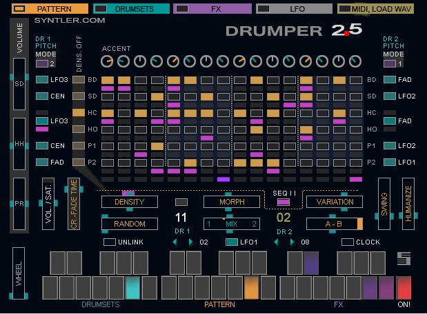 kvr syntler updates drumper vst drum machine for windows to v2 5. Black Bedroom Furniture Sets. Home Design Ideas