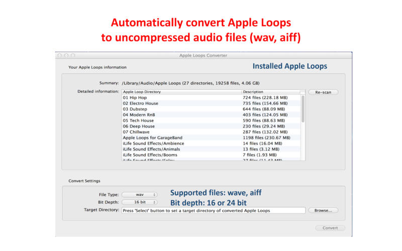 Easy CAF Converter for Logic Pro
