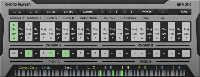 KVR: RF Music releases Chord Player - MIDI processor plug-in for ...