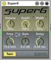 SubtleSonic Super6 Detune