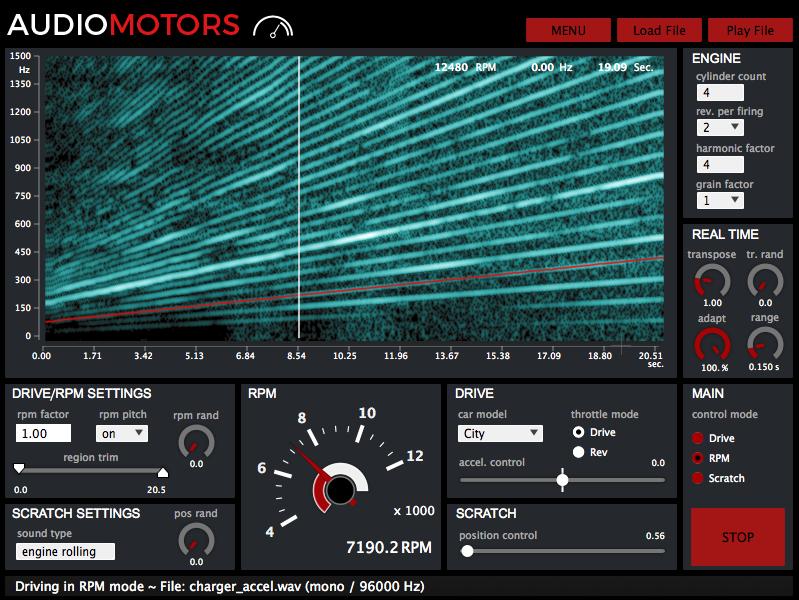 AudioMotors Pro