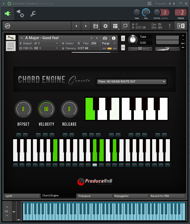 Chord Engine Genesis for Kontakt