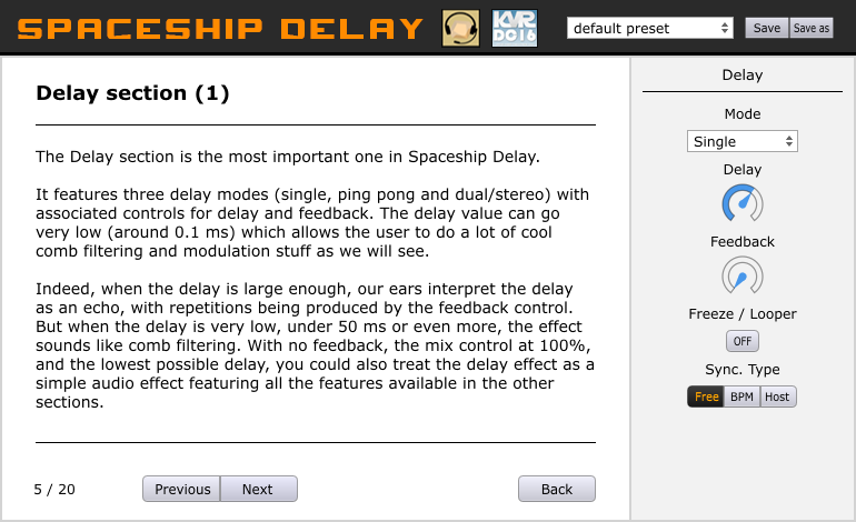 Spaceship Delay Screenshot