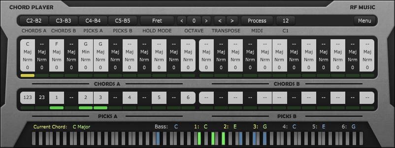 Kvr Chord Player By Rf Music Midi Processor Vst Plugin And Audio