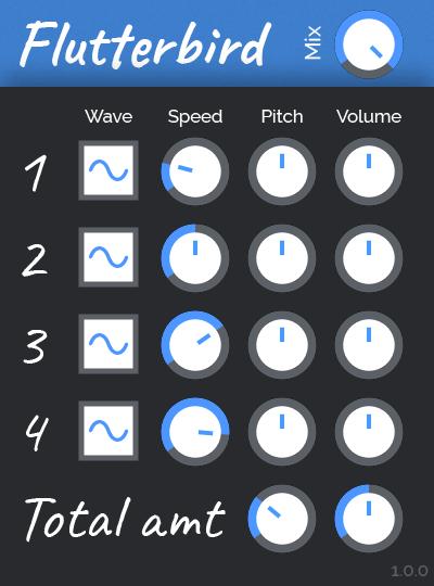 KVR: Flutterbird by tesselode - Pitch Shift VST Plugin