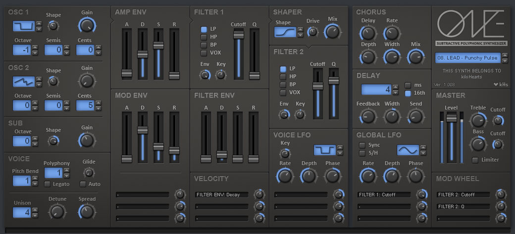 kHs ONE - VST