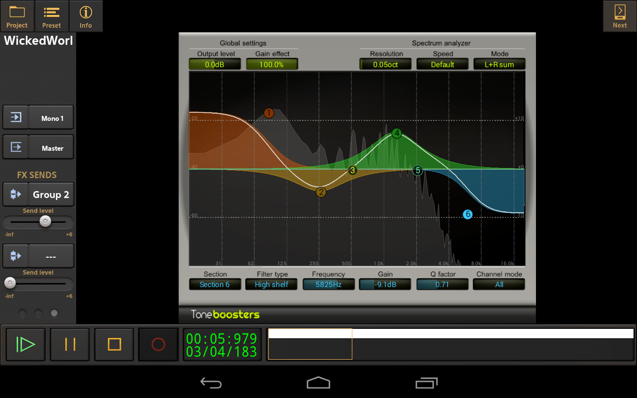KVR: Toneboosters EQ now available in Audio Evolution Mobile for Android