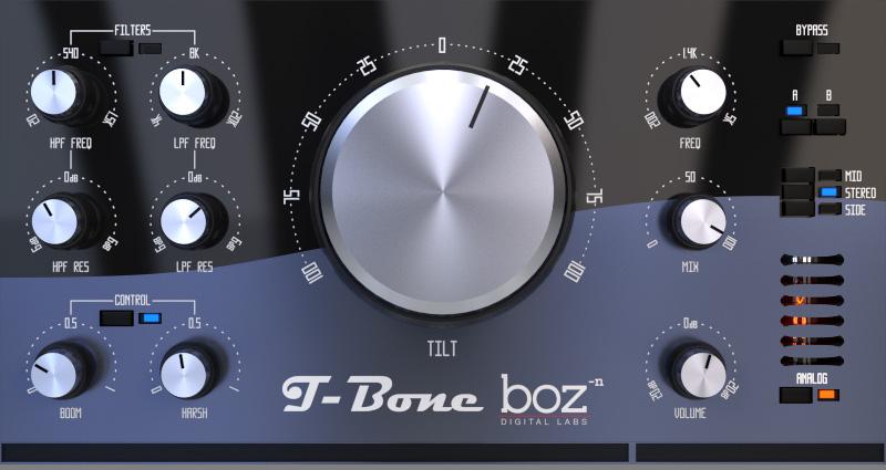 KVR: T-Bone by Boz Digital Labs - EQ VST Plugin, Audio Units