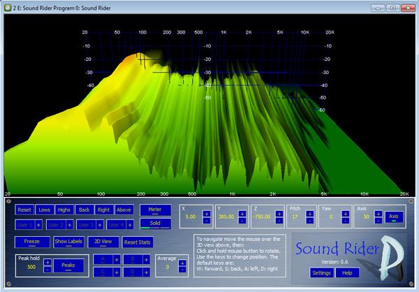 kvr sound rider by polygon audio   3d spectrum analyser