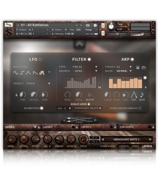 KVR: Hopkin Instrumentarium: Rattletines by Soundiron