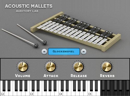 KVR: Acoustic Mallets: Vibraphone & Glockenspiel by Auditory