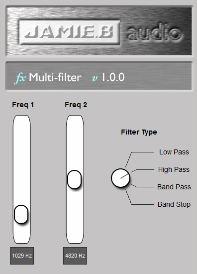 Jamie.B Audio - Multi-Filter