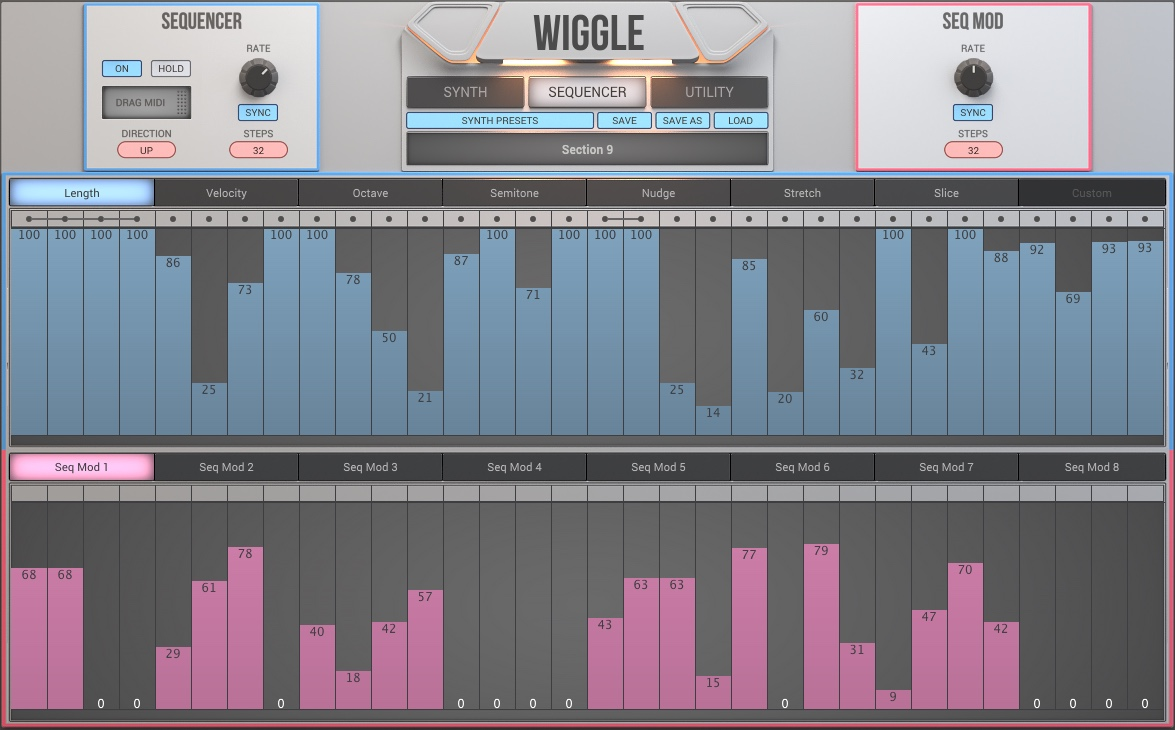 KVR: WIGGLE by 2nd Sense Audio - Waveshaping Synth VST