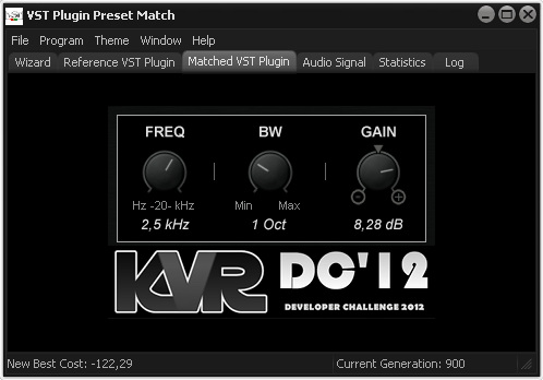 VST Plugin Preset Match