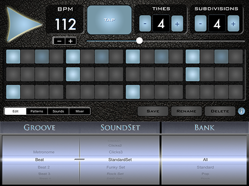 kvr supermetronome groovebox pro by lumbeat drum machine standalone application. Black Bedroom Furniture Sets. Home Design Ideas