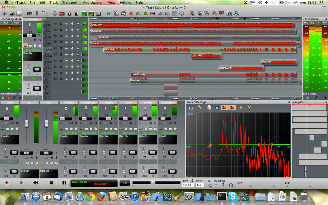 Multitrack Audio Editor