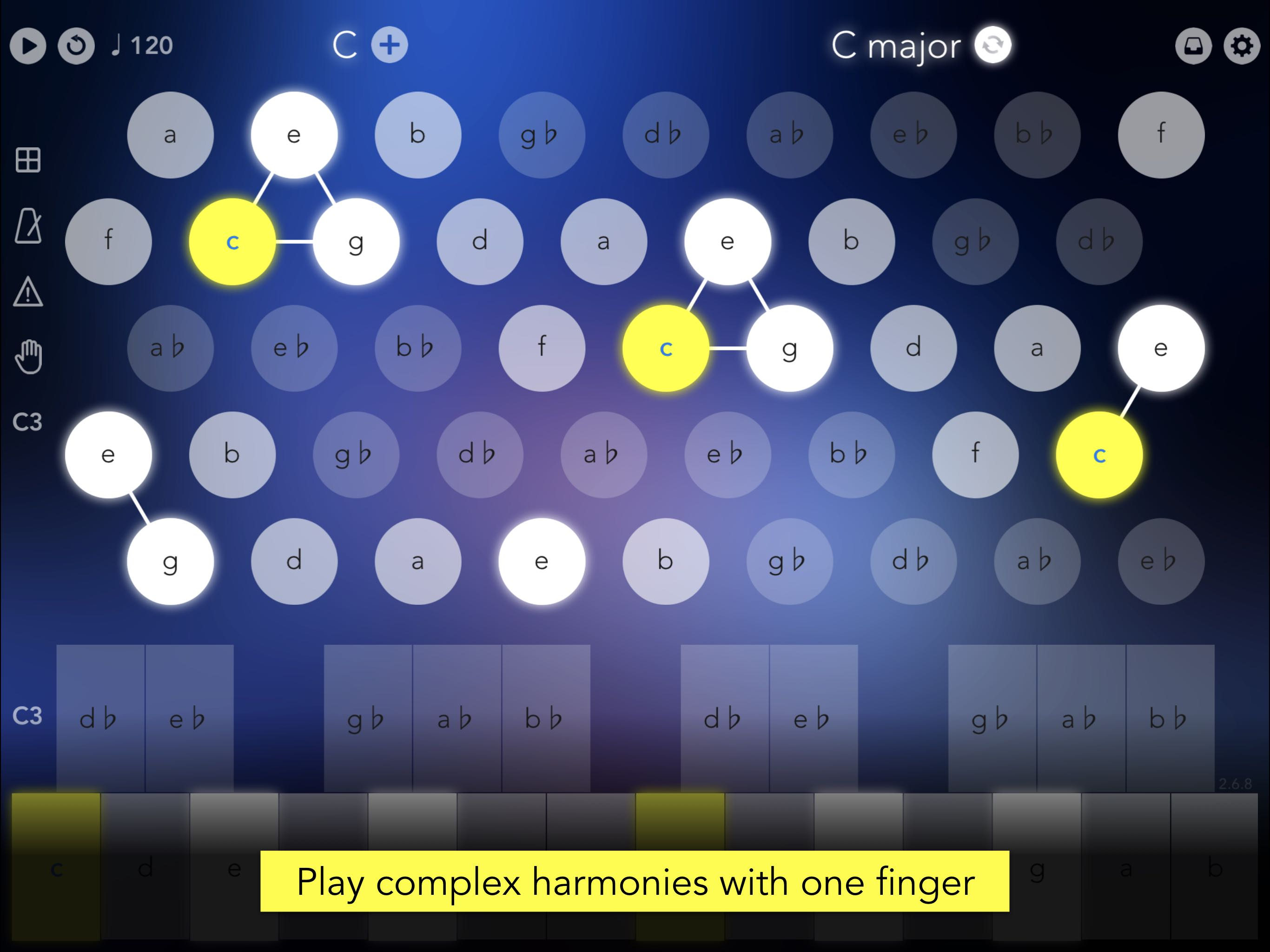 kvr navichord lite chord sequencer and midi controller by denis kutuzov chord sequencer. Black Bedroom Furniture Sets. Home Design Ideas