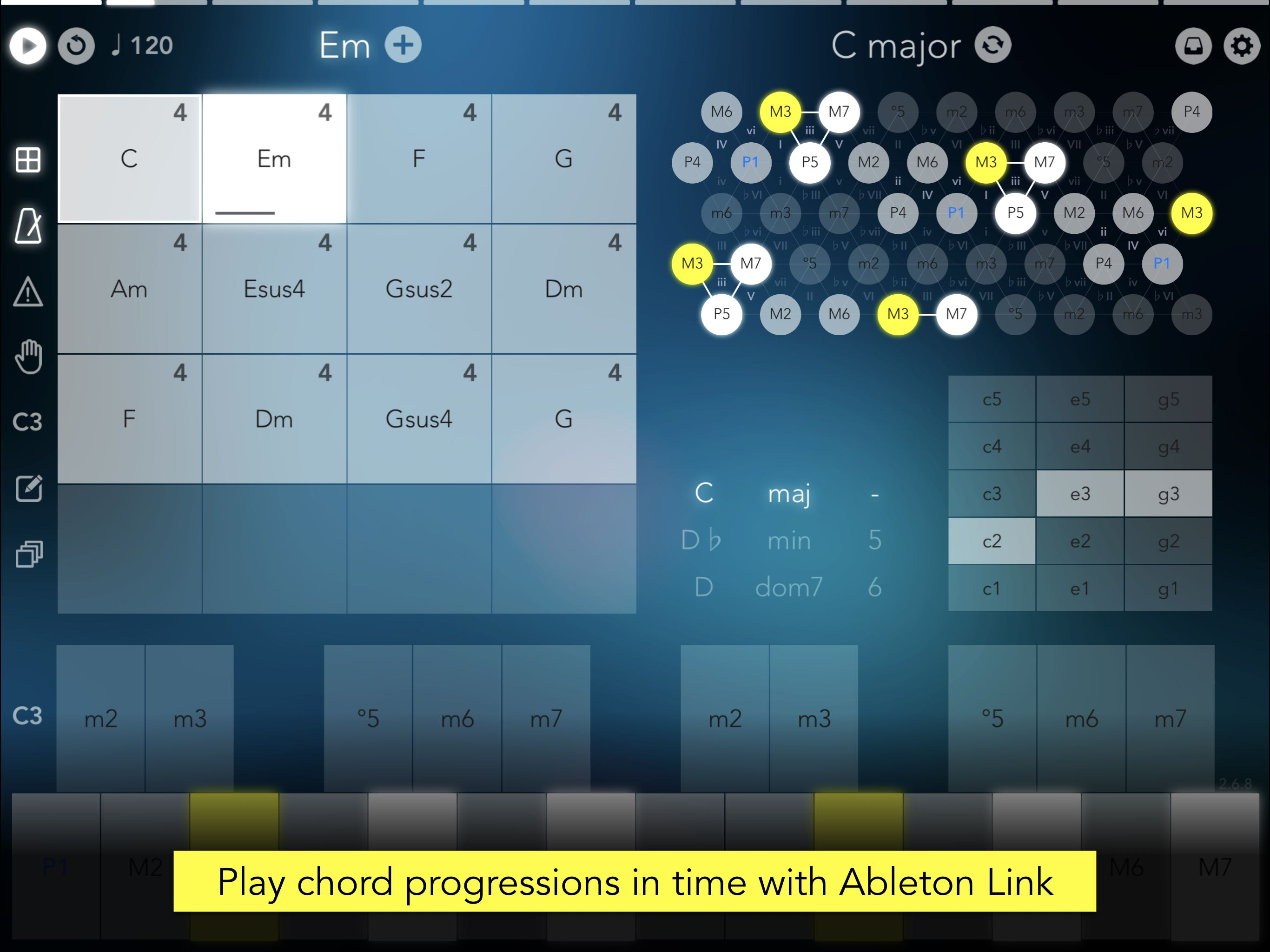 KVR: Navichord • chord sequencer and MIDI controller by