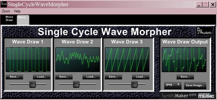 Single Cycle Wave Morpher