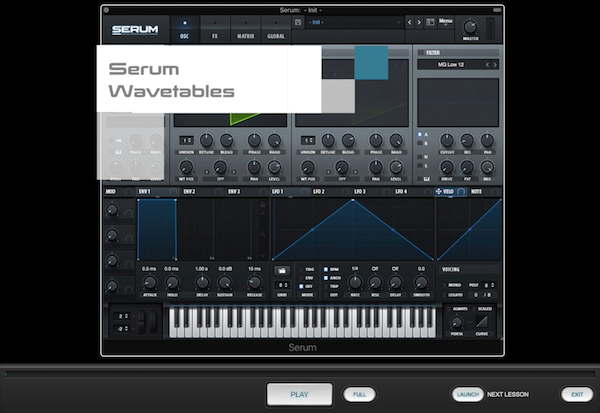 Serum Lesson Pack for Syntorial