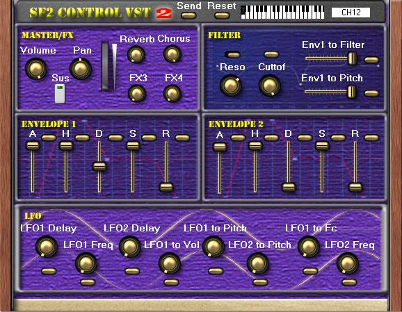 SF2 Control VST