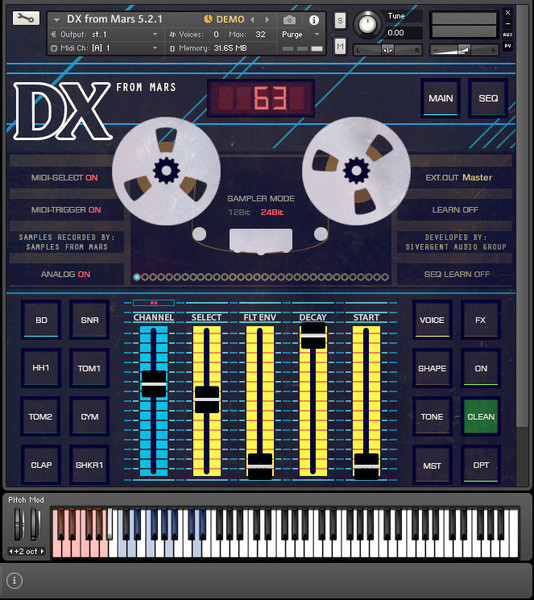 "Kvr: samples from mars releases ""tape drums vol ii"" drum sample."
