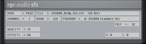 KVR: sfz by Cakewalk - SoundFont Player VST Plugin