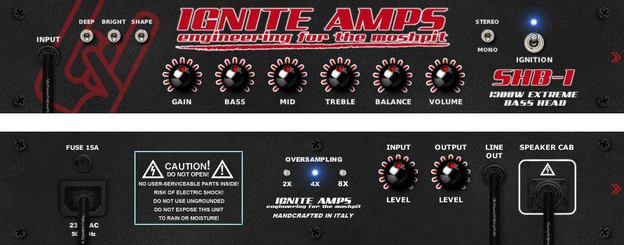 SHB-1 Bass Tube Amplifier