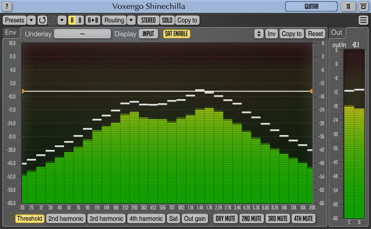 KVR: Shinechilla by Voxengo - Exciter / Enhancer VST Plugin