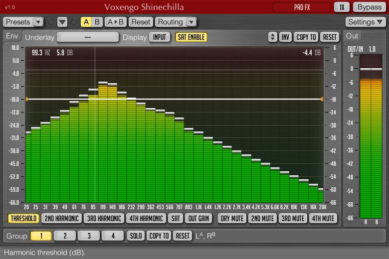 KVR: Voxengo releases Shinechilla - Spectral Harmonics