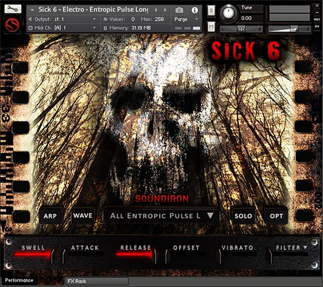 KVR: Soundiron releases Sick 6: Cinematic Horror Stinger and