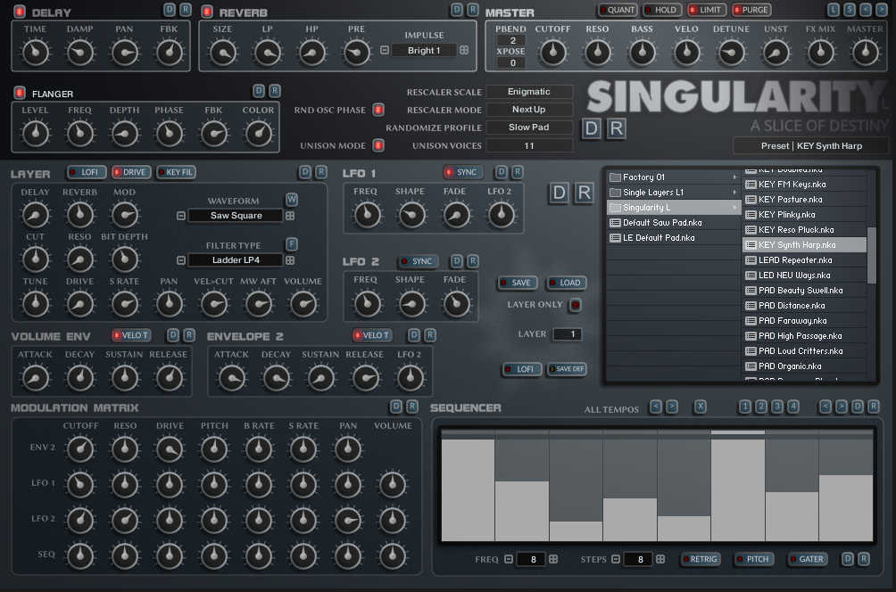 Singularity for Kontakt 5.7
