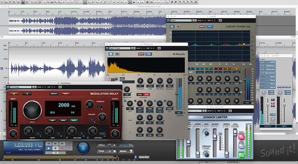 audio recording and editing software
