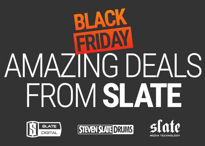 KVR: #KVRDeal Slate Digital Black Friday Sale