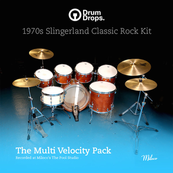 1970s Slingerland Classic Rock Kit - Multi-Velocity Pack