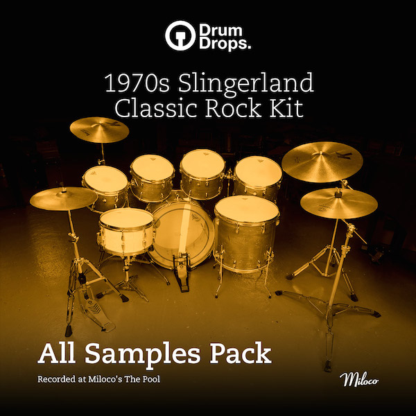 1970s Slingerland Classic Rock Kit - All Samples Pack