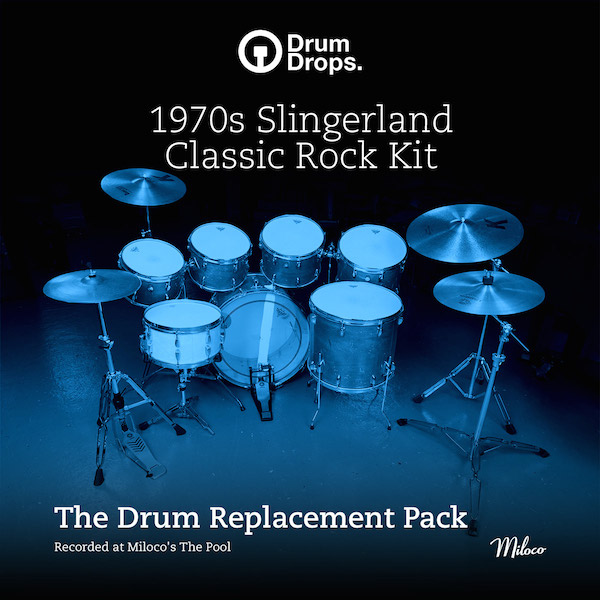 1970s Slingerland Classic Rock Kit - Drum Replacement Pack