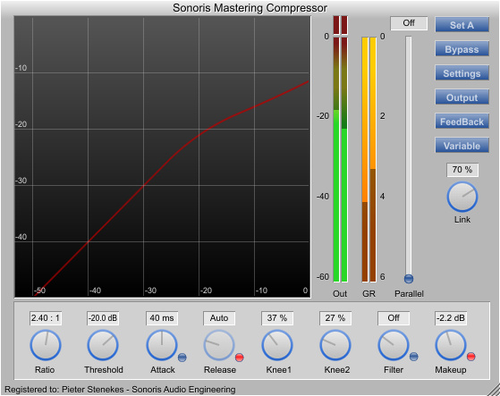Sonoris Mastering Compressor (SMCP)