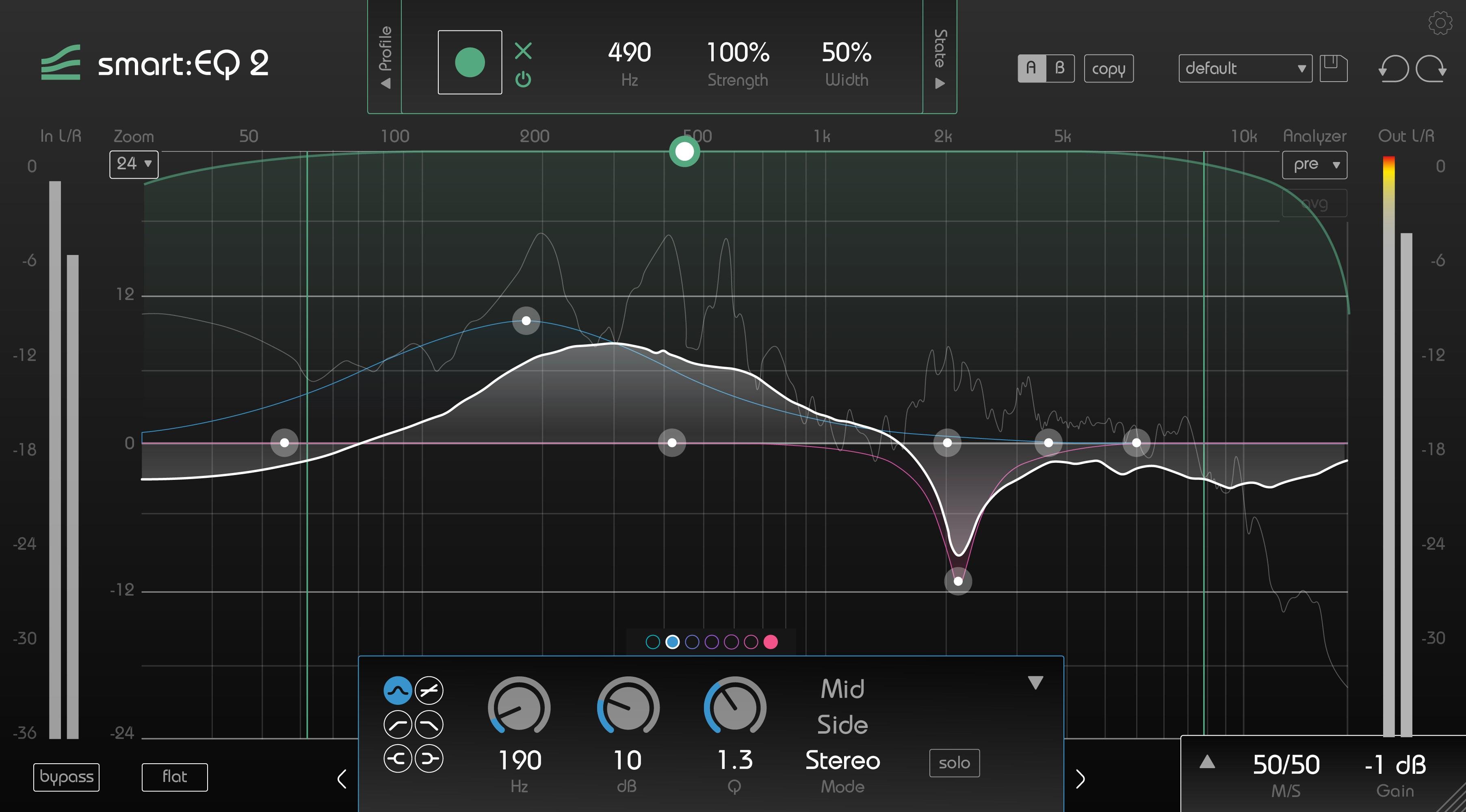 smart:EQ 2 by sonible - Intelligent Equalizer VST Plugin, Audio ...